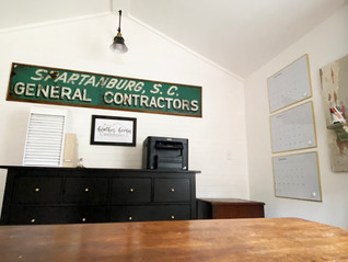 She Shed Office Reveal: The Interior