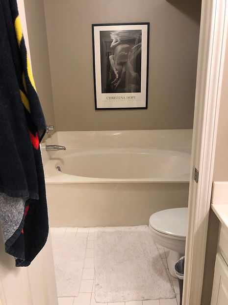 Green Bath Before 5