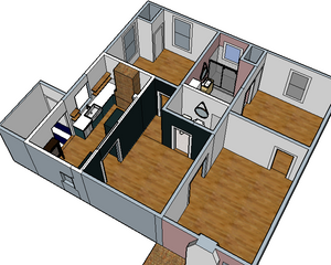 Redesigned Floor Plan 2 - Banda Bungalow