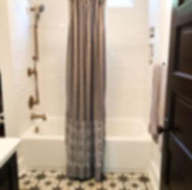 Masculine Bath Makeover