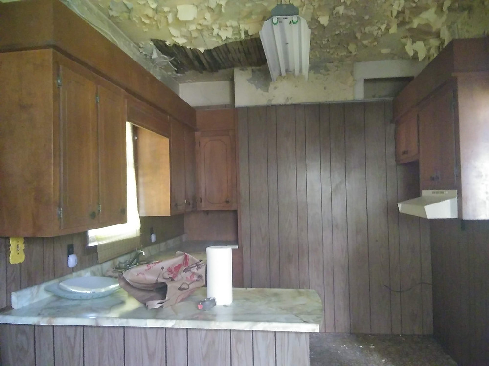 Kitchen Before - Banda Bungalow