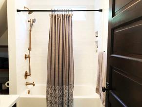 Stylish Masculine Bathroom Renovation