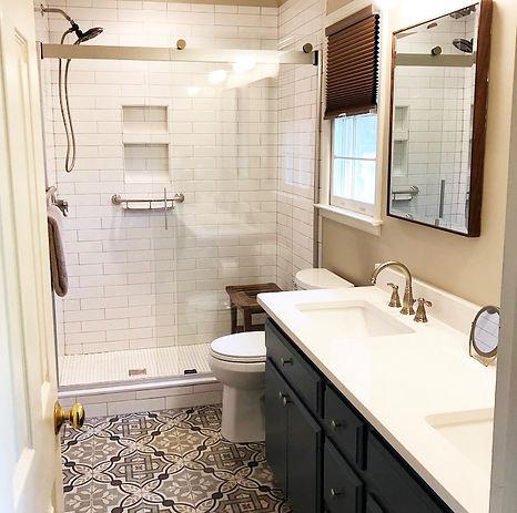 Moore Maser Bath Remodel