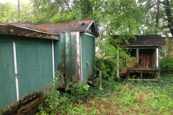 Exterior-Two Sheds