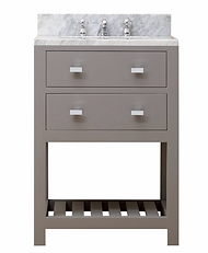 "24"" Vanity with Marble Top"