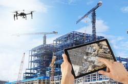 Drones para la construcción