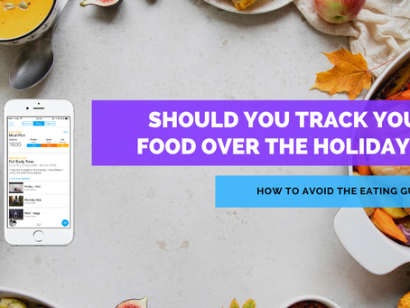 Should you track your food during the holidays?
