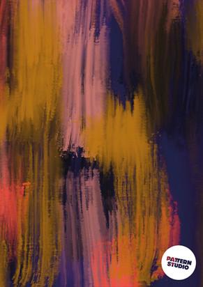 Abstraktes Muster von Pattern Studio Berlin