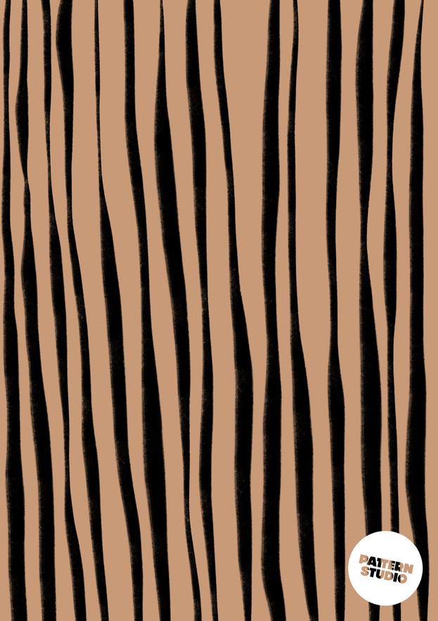 klassiches Streifen Muster von Pattern Studio Berlin