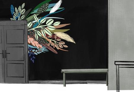 Wandgestlatung, Wandmalerei, Pattern Studio Berlin