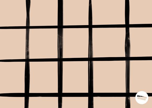 klassisches Karomuster von Pattern Studio Berlin