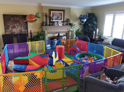 Indoor birthday party!
