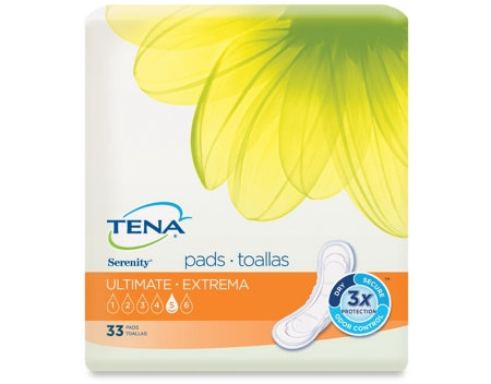 Incontinence Liner TENA® Serenity® Heavy Absorbency Polymer Unisex Disposable