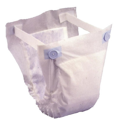 Adult Incontinent Undergarment Prevail® Belted Shields Pull On Heavy Absorbency