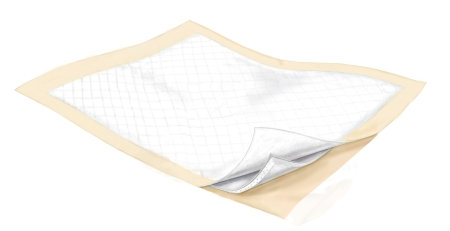 Underpad Wings™ Disposable Fluff / Polymer Moderate Absorbency