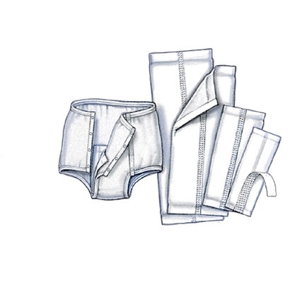 Incontinence Liner Simplicity™ Polymer Unisex Disposable