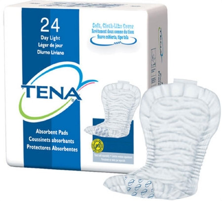 Incontinence Liner TENA® Day Regular Light Absorbency Polymer Unisex Disposable