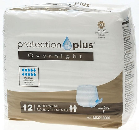Adult Absorbent Underwear Protection Plus® Pull On Disposable Heavy Absorbency