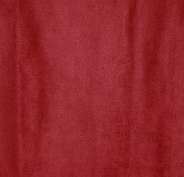 Fabric, Microfiber Suede, Cinnabar Red, By The Yard