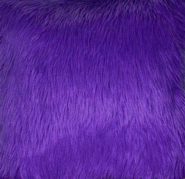 Purple Faux Fur Fabric