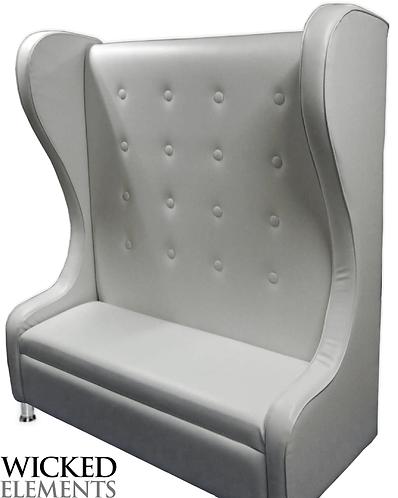 upholstered throne