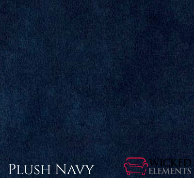 Navy Plush Fabric