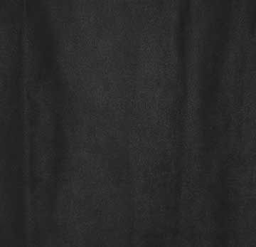 Fabric, Microfiber Suede, Black, By The Yard