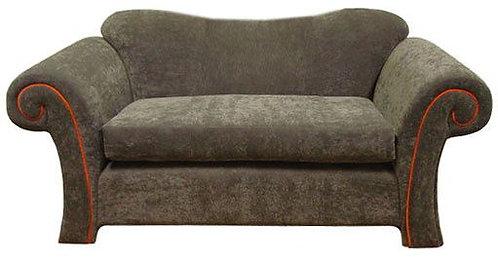 Custom Grey Love seat