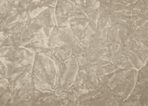 Cream Crush Textured Fabric