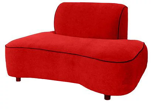 Red Mona Chair