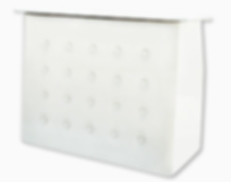 white leatherette pato bar