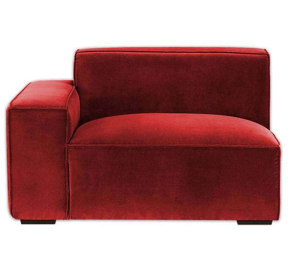 Cubic Modular Left Arm Sofa