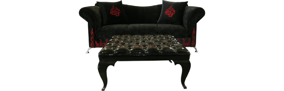 Wicked Elements Sofa & Ottoman