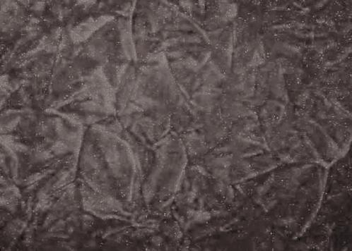 Crush Charcoal Gray Fabric