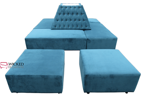 Tufted Banquette Rental