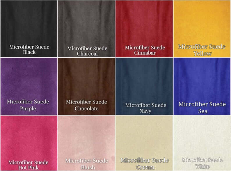 Micro Suede Fabric Selection
