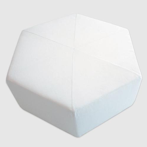 Hexagonal Ottoman