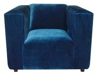 Wicked Blue Contemporary Chair