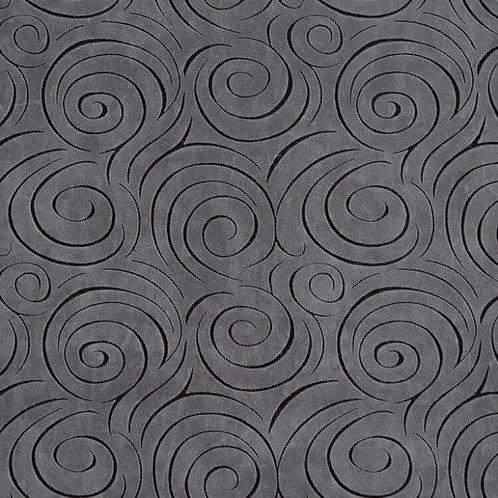 graphite swirl fabric
