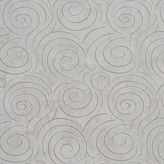 platinum grey swirl fabric