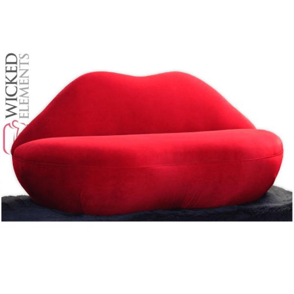 Red Lip Sofa
