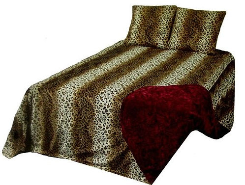 Leopard Bed Set