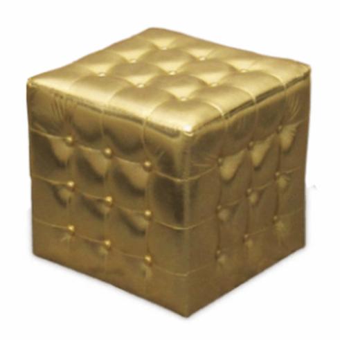 Gold Ottoman