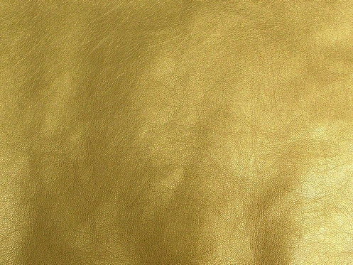 Gold Faux Leather