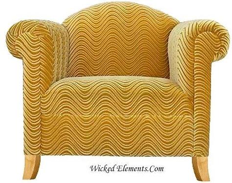 Gold Custom Funky Chair