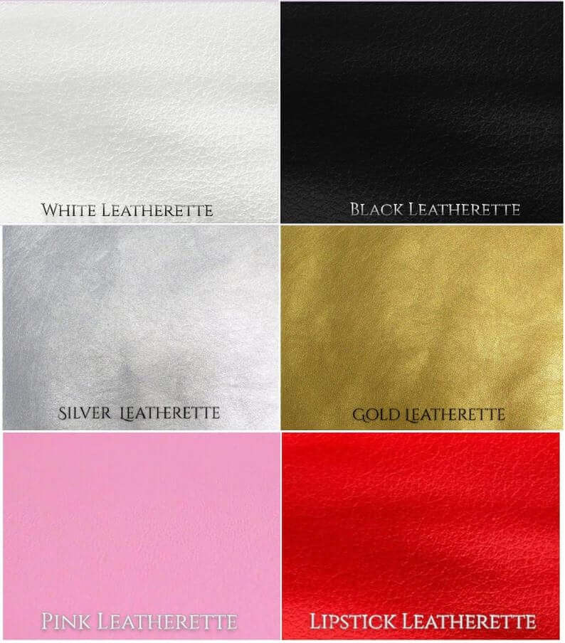 Leatherette Fabric Selection