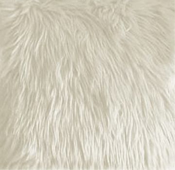 Fabric, Faux Fur, White, By The Yard