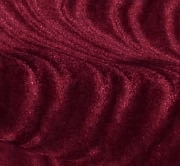 Burgundy Flocked Velvet Fabric
