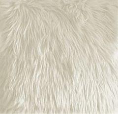 Cream Faux Fur Fabric