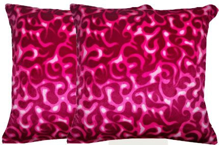 Pink Flames Pillow Set